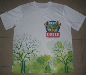 Deer creek tshirt printed