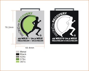 Racing for Recovery Finisher medal