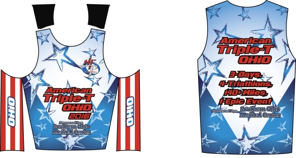 American Triple T Tri Top Front 2016