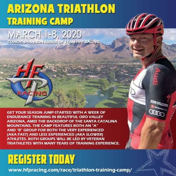 2020 Arizona Triathlon Training Camp